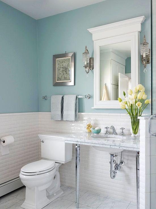 Badezimmer dekorieren