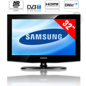 samsung lcd fernseher 32 hd ready mit dvb t le32a466. Black Bedroom Furniture Sets. Home Design Ideas
