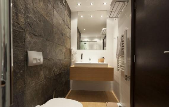 Natursteine im Badezimmer
