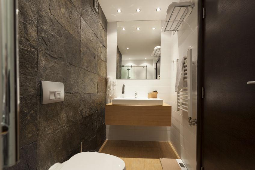 Badezimmer Schiefer das bad mit natursteinfliesen gestaltenproduktausstellung de